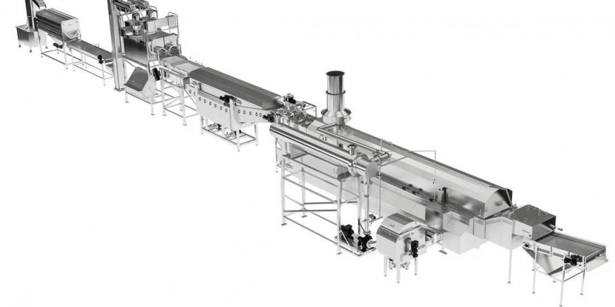 Otrzymaliśmy zamówienie na linię do produkcji chipsów ziemniaczanych w jednym z zakładów w Polsce.